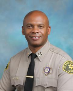 Captain Carter Los Angeles County Sheriff's Department Centruy Station