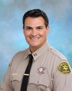 Captain Flores. Los Angeles County Sheriff's Department Temple Station