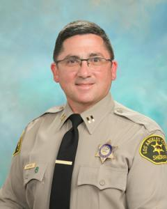 Captain Shaffer Los Angeles Sheriff's Department, Palmdale Station