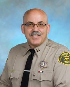 Captain Weber Los Angeles County Sheriff's Department Lancaster Station