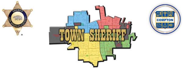 Town Sheriff Compton Logo
