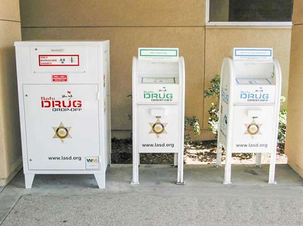 drug drop off Bins