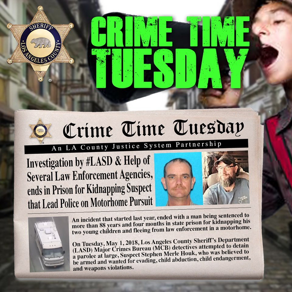 Graphic For Crime Time Tuesday 091019