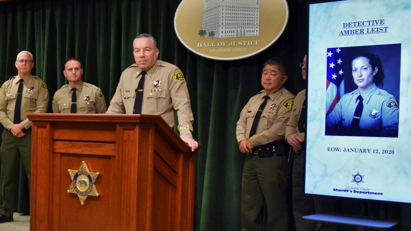 Sheriff Villanueva at press conference