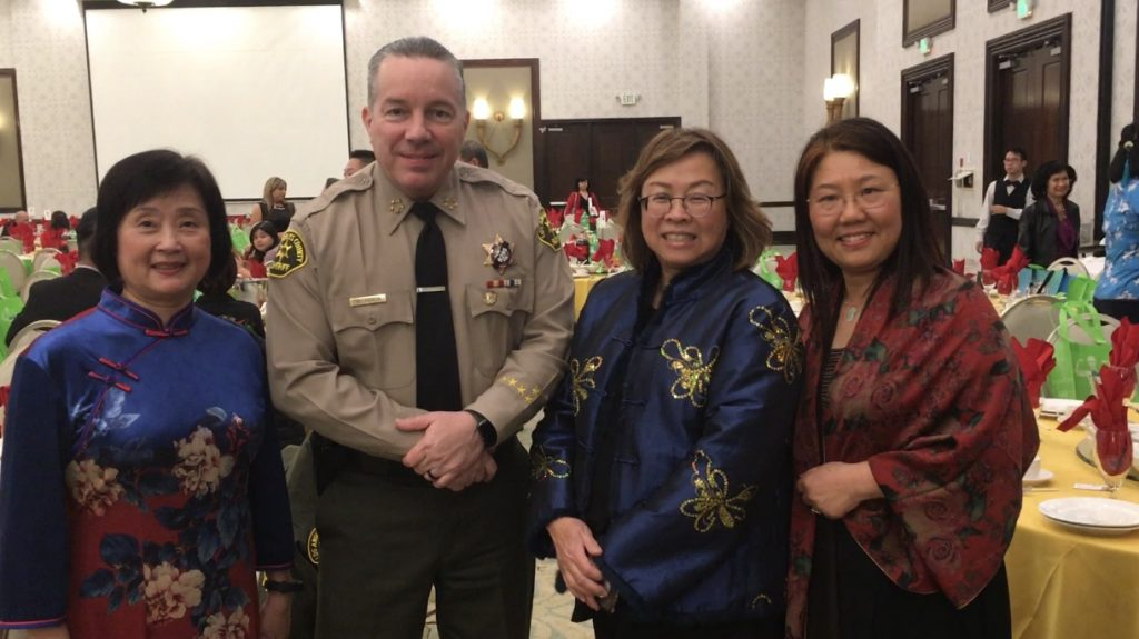 Sheriff with LASD Chinese-American employees