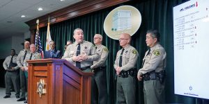 Sheriff at new conference