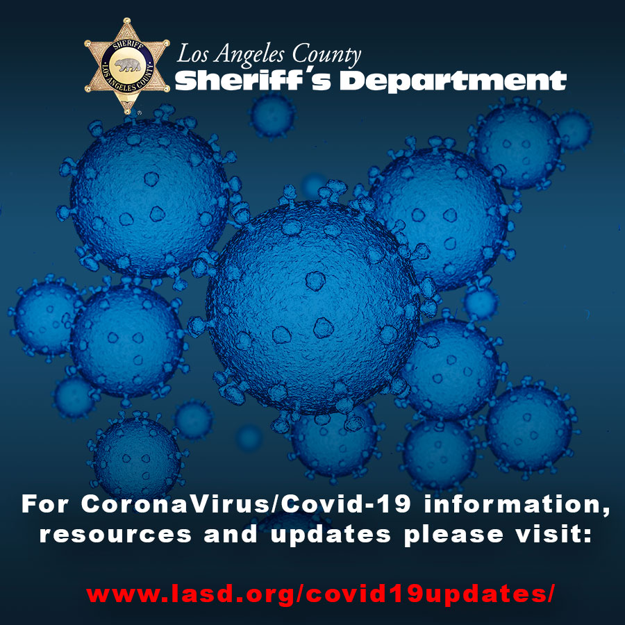 Covid 19 Info Los Angeles County Sheriff S Department