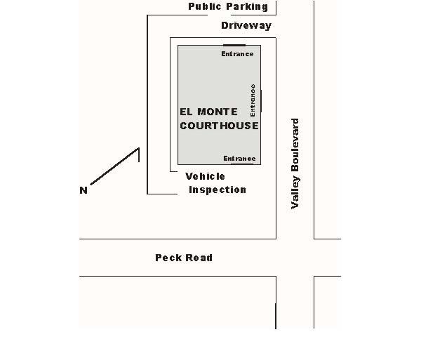 Public Parking off of Valley Blvd.